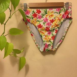 80s high waisted swim bottoms